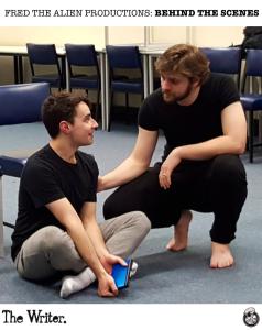 Sam and Geoffrery (rehearsal)