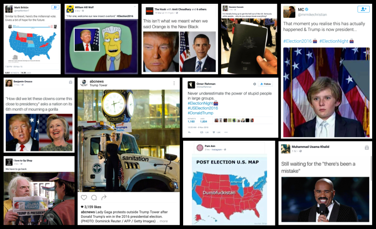 us-election-assorted-social-media-response
